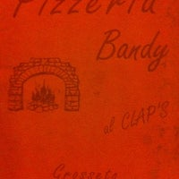 Photo taken at Pizzeria Bandy by Francesco on 8/23/2012
