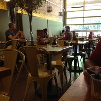 Photo taken at Bareburger by Claudia M. on 5/10/2012