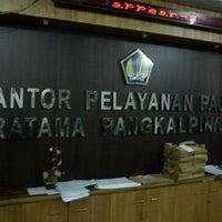 Photo taken at KPP Pratama Pangkal Pinang by Arif T. on 4/2/2011