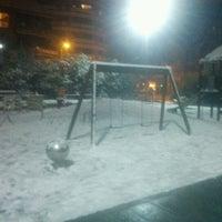Photo taken at Parque Infantil by Josu G. on 2/2/2012