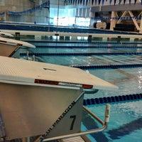 Photo taken at Greensboro Aquatic Center by Derek S. on 3/7/2012