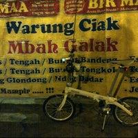 Photo taken at Warung Ciak Pak galak by Samy U. on 3/5/2012