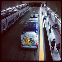Photo taken at University Street LINK Station by Jonathan I. on 3/18/2012
