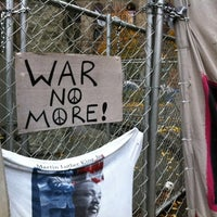 Photo taken at #OccupyPittsburgh by Cooper M. on 11/23/2011