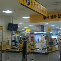 Photo taken at emart by Jeanne Jihyun K. on 10/12/2011