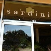 Photo taken at Sardinia Enoteca Ristorante by Maria O. on 1/7/2012