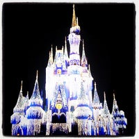 Photo taken at Cinderella Castle by Logan D. on 11/10/2011