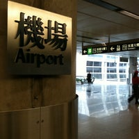 Photo taken at MTR Airport Station 機場站 by Miranda Y. on 1/2/2011