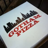 Photo taken at Gotham Pizza by Bec C. on 8/22/2011