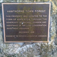 Photo taken at Hawthorne Forest by Jonathan H. on 12/3/2011