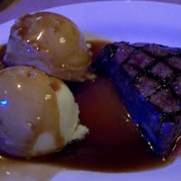 Photo taken at Montana Mike's Steakhouse by Kelly G. on 2/12/2012