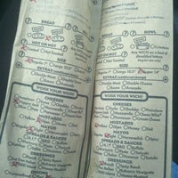 Photo taken at Which Wich? Superior Sandwiches by Tammie L. on 2/16/2012