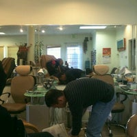 Photo taken at First Class Nails & Spa by Chela D. on 2/25/2012