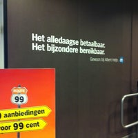 Photo taken at Albert Heijn by Mieke v. on 7/7/2012