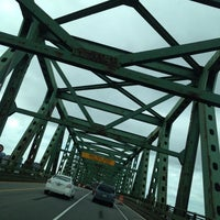Photo taken at Maurice J. Tobin Memorial Bridge by Keith V. on 6/26/2012