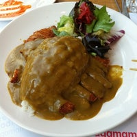 Photo taken at Wagamama by Marcus S. on 8/1/2011