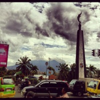 Photo taken at Tugu Kujang Bogor by Mirasz on 3/3/2012