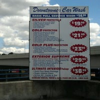 Photo taken at Downtowner Car Wash by Molly M. on 9/5/2011