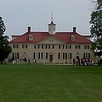Photo taken at George Washington's Mount Vernon by Chad M. on 4/4/2012
