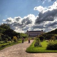 Photo taken at Botanical Garden of Paris by Isabelle S. on 6/30/2012