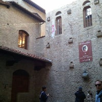 Photo taken at Museo Casa di Dante by shimerson on 1/1/2012