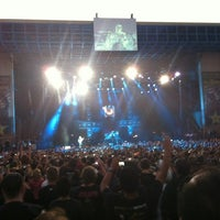 Photo taken at San Manuel Amphitheater by Chris H. on 7/3/2012
