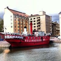 Photo taken at Lightship Relandersgrund by Albert C. on 8/8/2012