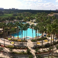 Photo taken at Orlando World Center Marriott by Stacia T. on 3/4/2012