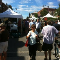 Photo taken at Milton Farmer's Market by Rob B. on 8/18/2012