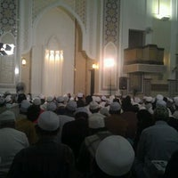 Photo taken at Masjid Al-Hidayah by Ali Yahaya A. on 4/11/2012