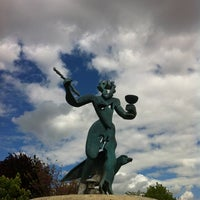 """Photo taken at Parque de """"La Ribota"""" by Genial_es on 5/6/2012"""