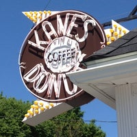 Photo taken at Kane's Donuts by Meg T. on 5/12/2012