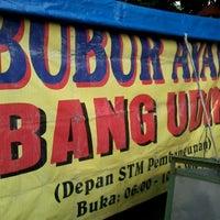 Photo taken at Bubur Ayam by Doni D. on 5/9/2012