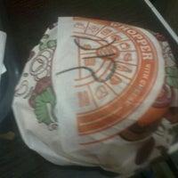 Photo taken at Burger King by Ignacio Antonio C. on 3/27/2012