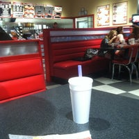 Photo taken at Freddy's Frozen Custard & Steakburgers by Declan C. on 5/11/2012