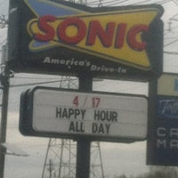 Photo taken at SONIC Drive In by nikki on 4/1/2012