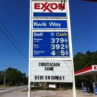 Photo taken at Kwikway by Kristy B. on 4/14/2012