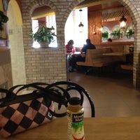 "Photo taken at Frank's Pizza & Italian Restaurant by Joseph ""G-Clef"" C. on 7/16/2012"