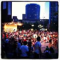 Photo taken at Rosa Parks Circle by Ben P. on 6/20/2012