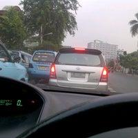 Photo taken at Jalan Dewi Sartika by anna z. on 8/12/2012