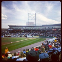 Photo taken at PeoplesBank Park by Edward H. on 8/21/2012