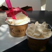 Photo taken at Le Café de Caen by Julia F. on 8/21/2012