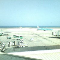 Photo taken at Aeropuerto de Fuerteventura (FUE) by Nathalie🌷 on 7/16/2012