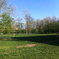 Photo taken at Kellogg Dog Park by Ski A. on 4/8/2012