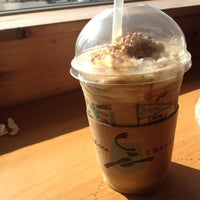 Photo taken at Caribou Coffee by Mylette T. on 4/18/2012