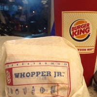 Photo taken at Burger King by adrian c. on 12/13/2012