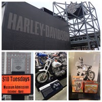 Photo taken at The Shop at the Harley-Davidson Museum by Miguel G. on 4/7/2015
