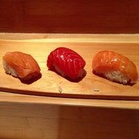 Photo taken at Sushi Yasuda by Sajid M. on 9/29/2012