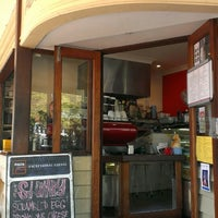 Photo taken at Alberto's Shot Cafe by Davied v. on 10/10/2013