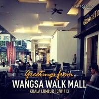 Photo taken at Wangsa Walk Mall by Mohamad F. on 1/13/2013